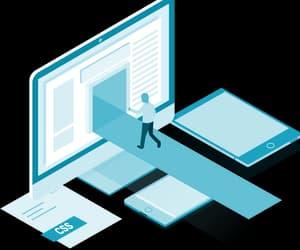 dedicated web server, dynamic hosting, and dynamic hosting solution image