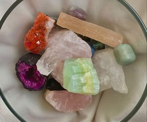 crystals, law of attraction, and lad image