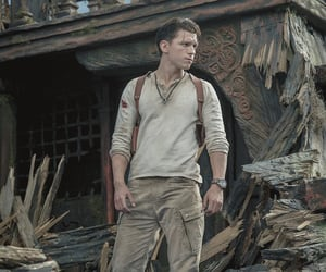 menswear, uncharted, and tom holland image