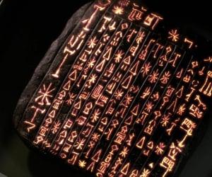 god, tablet, and prophet image