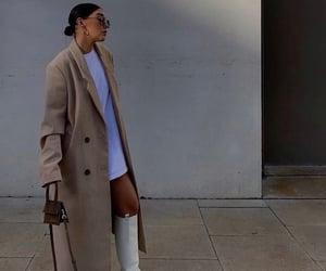 beige, model, and parisian image