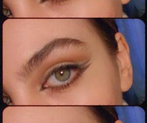 euphoria, eyes, and eyeshadow image