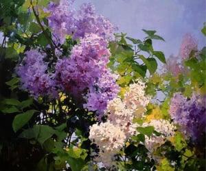 art, creativity, and flowers image
