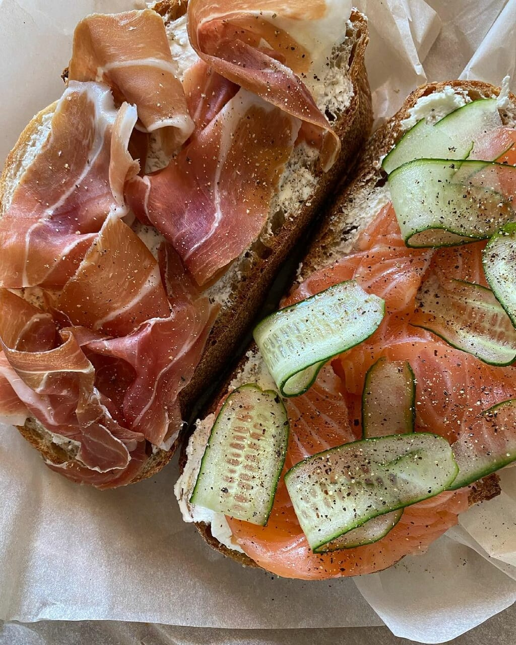bread, breakfast, and delicious image