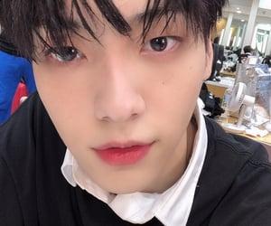 black eyes, idol, and txt image