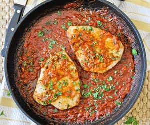 Spanish Tuna Steaks with Spicy Tomato Sauce