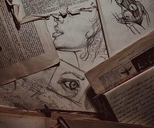 book, academia, and art image