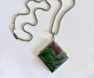 etsy, sterling pendant, and handcrafted image