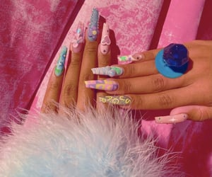 nails and megan thee stallion image