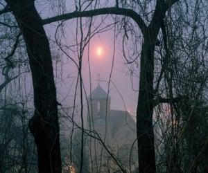 church, fog, and 120 image