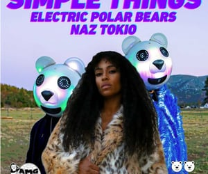 music, electric polar bears, and naz tokio image
