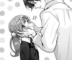 anime, couple, and cute couple image