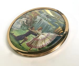 etsy, vintage compact, and by melissa image