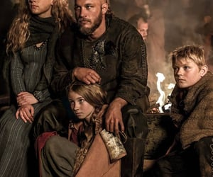 vikings, lagertha, and queen king warriors image