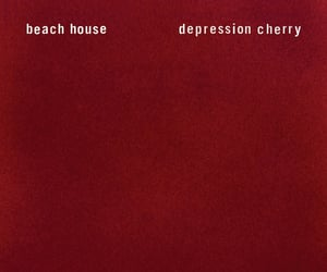 beach house and red image