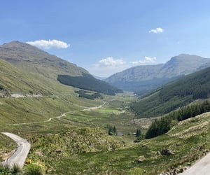 scotland, viewpoint, and rest and be thankful image