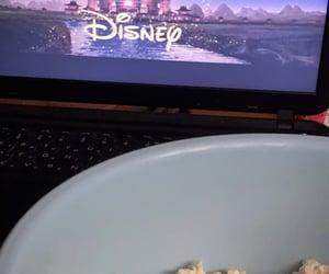 disney, popcorn, and relax image