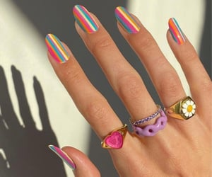 nails, aesthetic, and manicure image