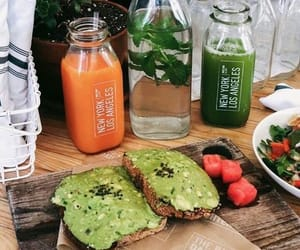 food and juice image