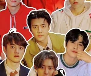 Chen, sehun, and chanyeol image