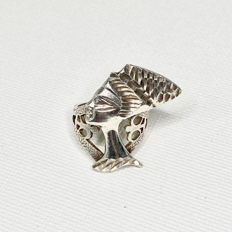 ancient egypt, sterling silver, and etsy image