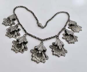 etsy, antique necklace, and collar necklace image