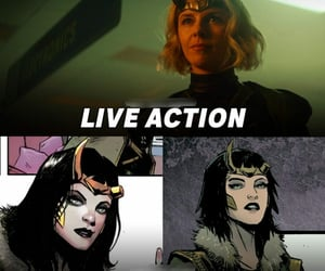 comics, loki, and lady loki image