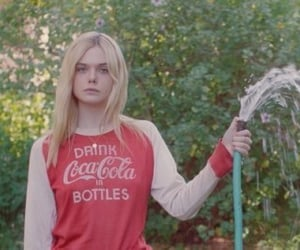 Elle Fanning, a rainy day in new york, and teen spirit image