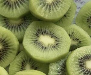 green, aesthetic, and kiwi image