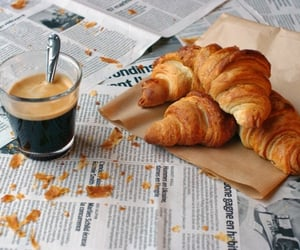 breakfast, morning, and relax image