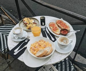 bacon, bread, and brunch image