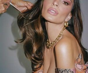 brunette, model, and models image