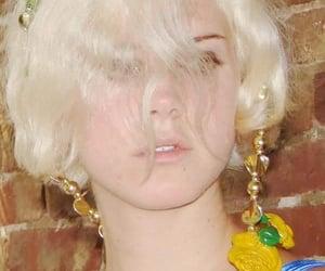 blonde, blue, and vintage image