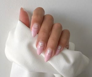 chanel, nails, and beauty image
