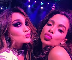 singer, dulce maria, and anitta image