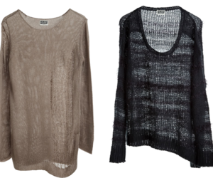 fashion, knitted, and sweaters image
