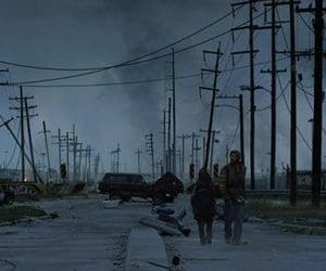 abandoned, road, and apocalypse image