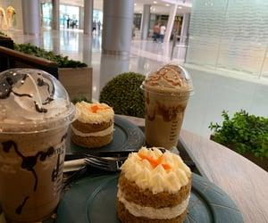 cafe, cake, and caramel image