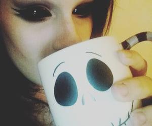 black, goth, and black eyes image