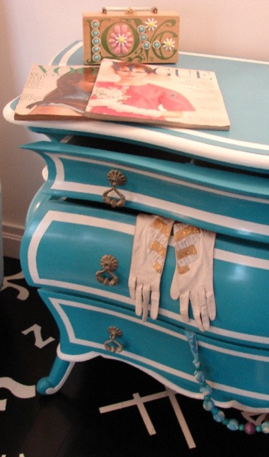 blue, dresser, and gloves image