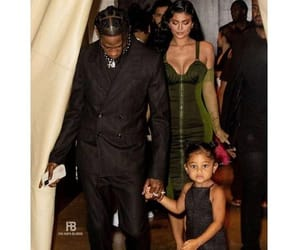 Travis Scott Kylie Jenner and Stormi Webster attend the 72nd annual Parsons Benefit in NYC