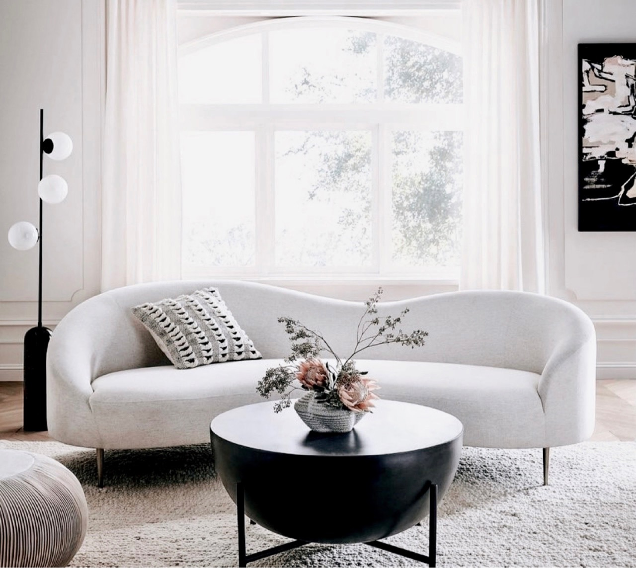 black and white, room, and aesthetically pleasing image