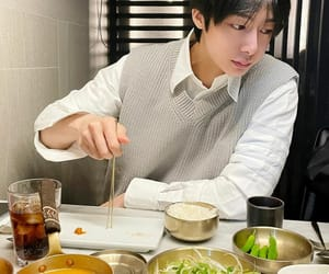 food, chae hyungwon, and instagram image
