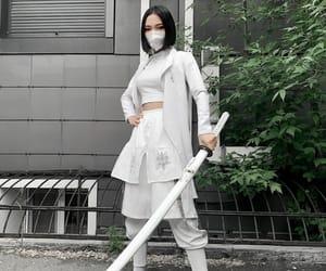 aesthetic, grunge, and katana image