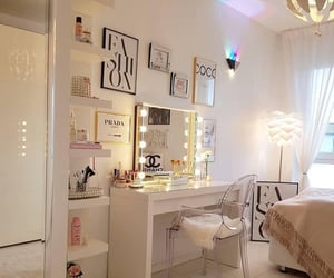 classy, room, and white image