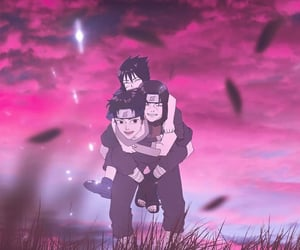 anime, family, and itachi image