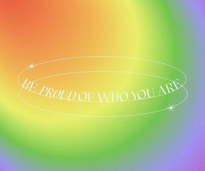 be proud, colorful, and lgbt image