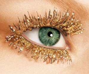 gold, eyes, and eye image