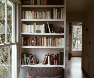 books, home, and cozy image