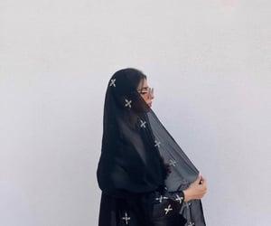 arab, black, and hijab image